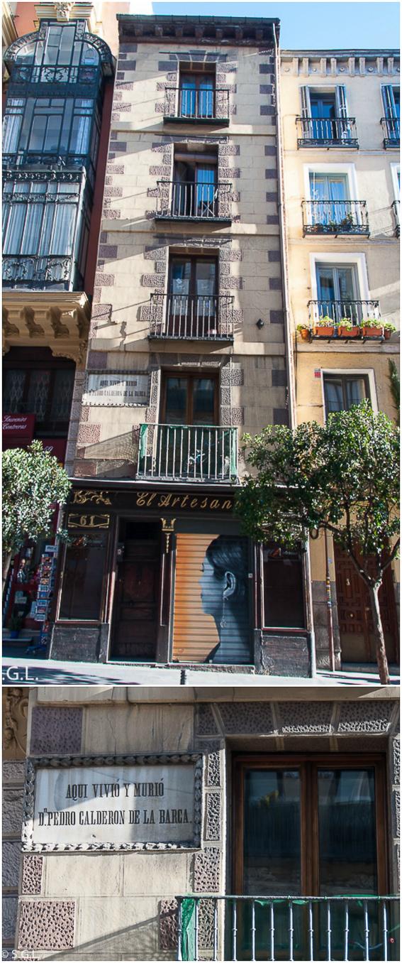 Casa Calderon de la Barca. Ruta lowcost por Madrid