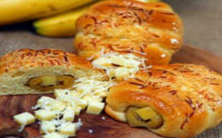 Resipi roti pisang keju