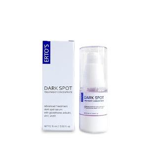 ERTO'S Dark Spot Treatment Concentrate Serum 15ml