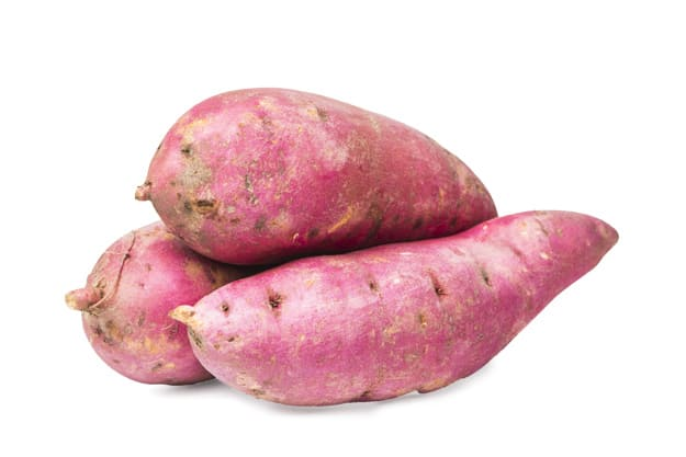 What are the benefits of purple or purple potatoes?