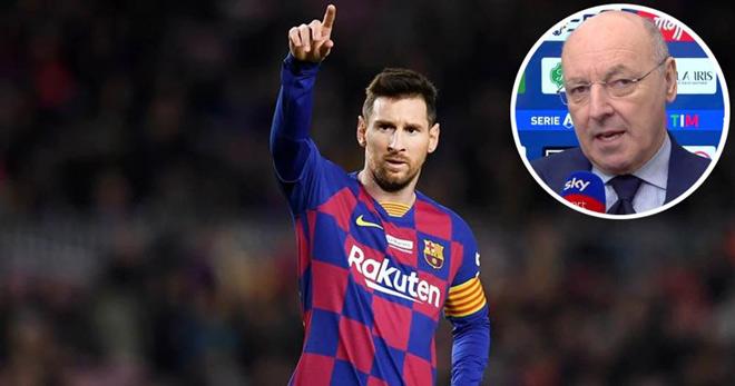 Tin đồn Messi đến Serie A đấu Ronaldo: Sếp Inter Milan làm rõ thực hư 2