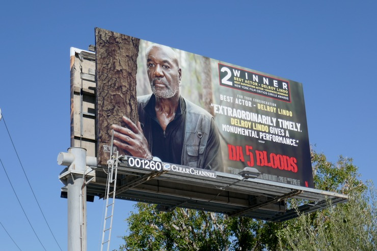 Delroy Lindo Da 5 Bloods FYC billboard