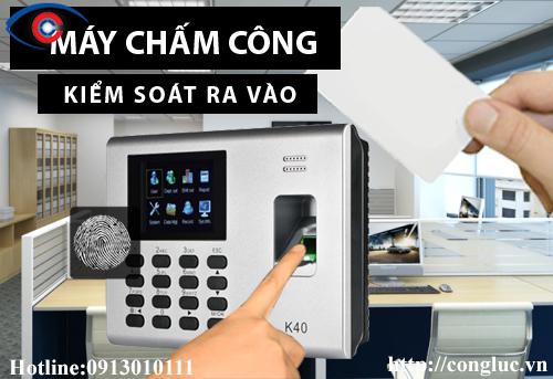 bán máy chấm công giá rẻ tại Quận Lê Chân