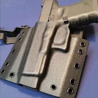 Custom Kydex OWB On Waistband Holster by Statureman Glock