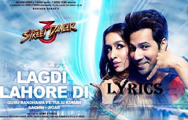 Lagdi Lahore Di Hindi Lyrics