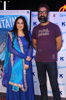 Gracy Singh and Bappi Lahiri   Blue Mountain Music Launch IMG 0548.JPG