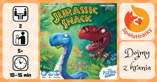 recenzia hry Jurassic Snack na blogu spoluhratky.eu