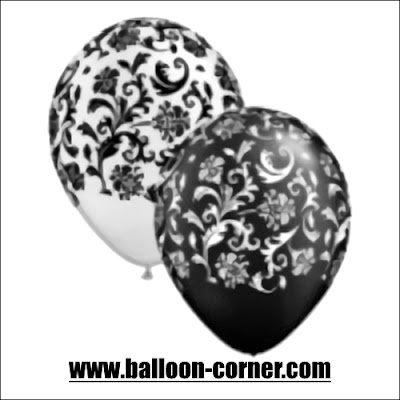 Balon Latex Print VINES
