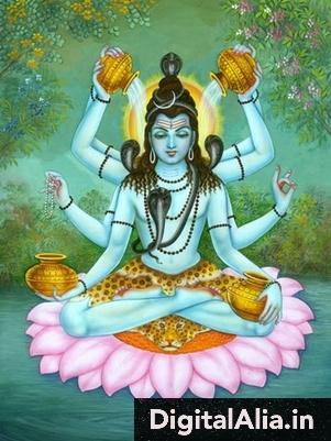 lord shiva 3d wallpaper