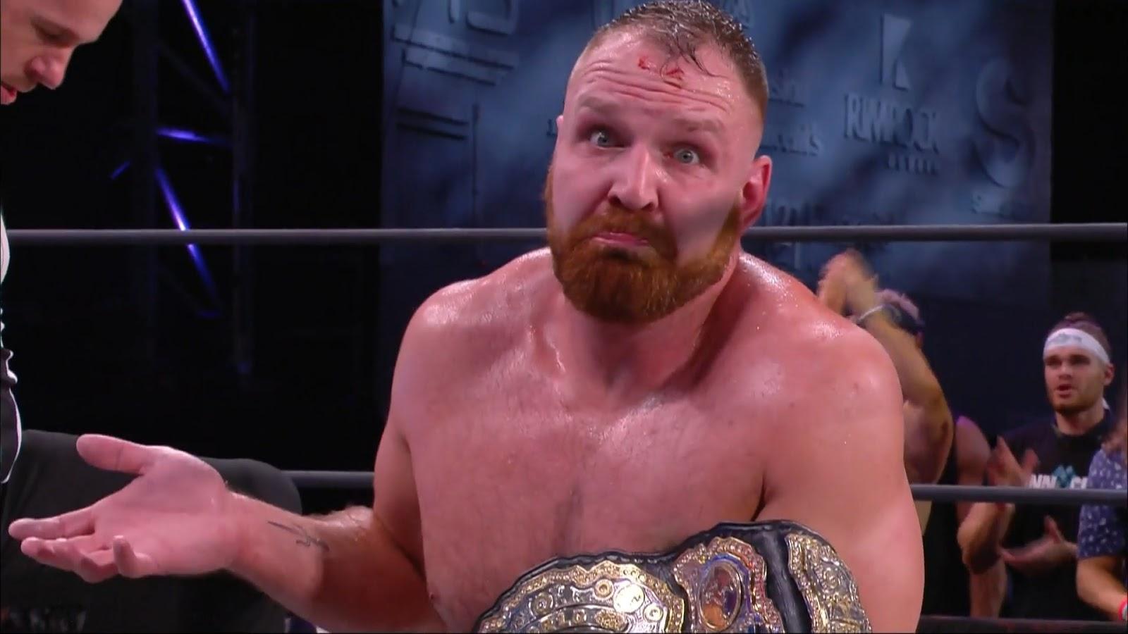 Jon Moxley alfineta a WWE após o fim do AEW All Out