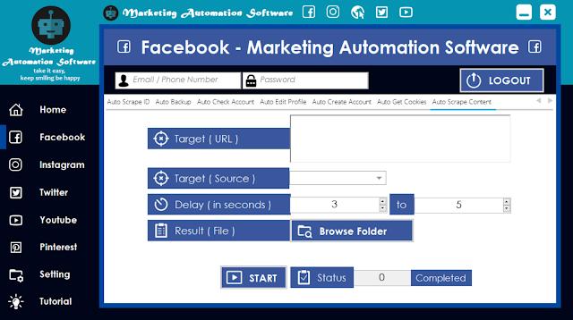 Cara Cepat Mengambil Konten Postingan Facebook Secara Automatis