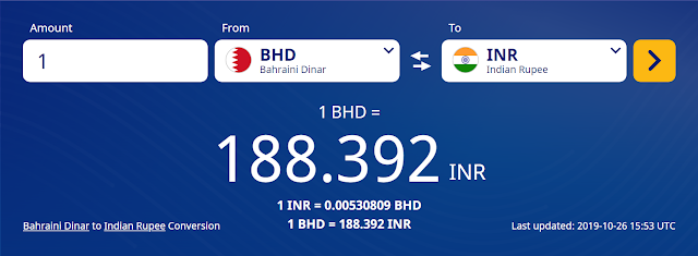 BHD TO INR,INR TO BHD,Bahrain Dinar  to Indian Rupee Conversion