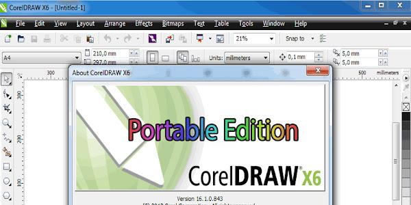 CorelDraw Portable X6 Free Download