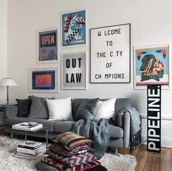 wall decor, pop art style prints