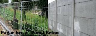 Pagar Pricast panel beton