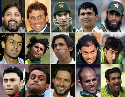 Pakistan cricket team roster images