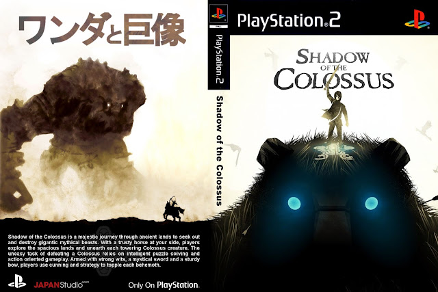 Capa Shadow Of The Colossus PS2