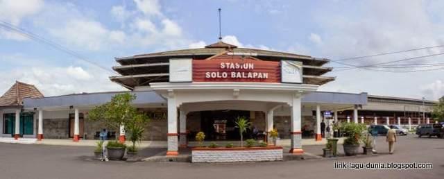Foto Stasiun Balapan Solo