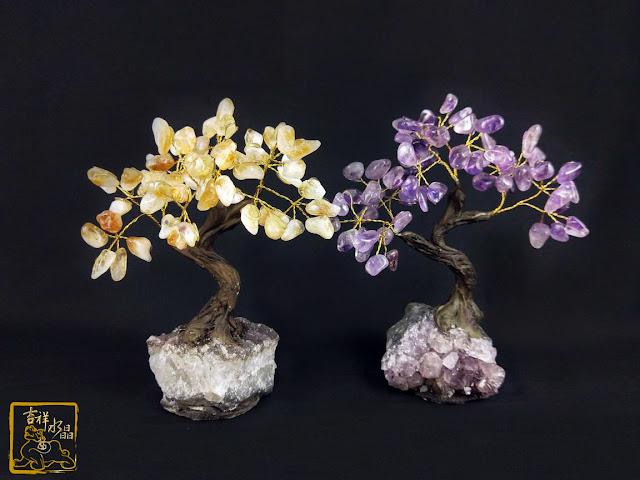 水晶碎石裝飾