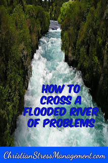 How to cross a river flooded with problems