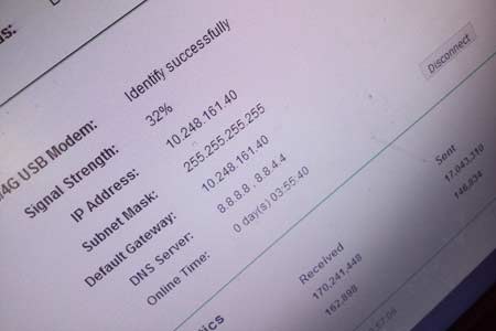 Status Pada Router