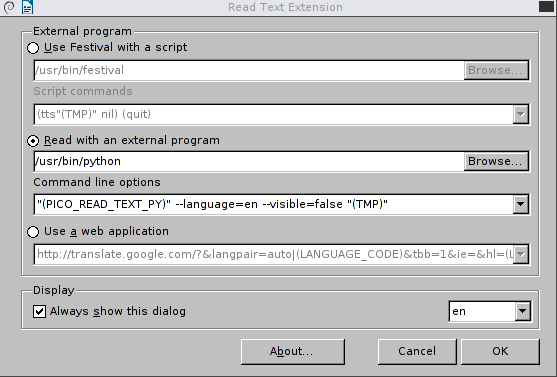 Text To Speech in Linux Debian ~ Life Sprint