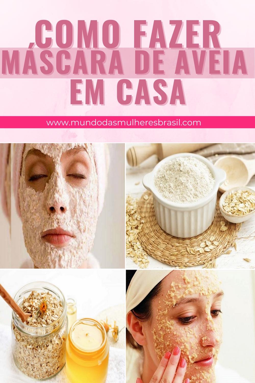 mascara de aveia para a pele