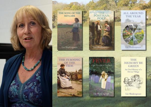 Eventful Summer for Devon Author, Liz Shakespeare