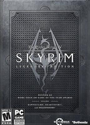 Capa do The Elder Scrolls V: Skyrim Legendary Edition