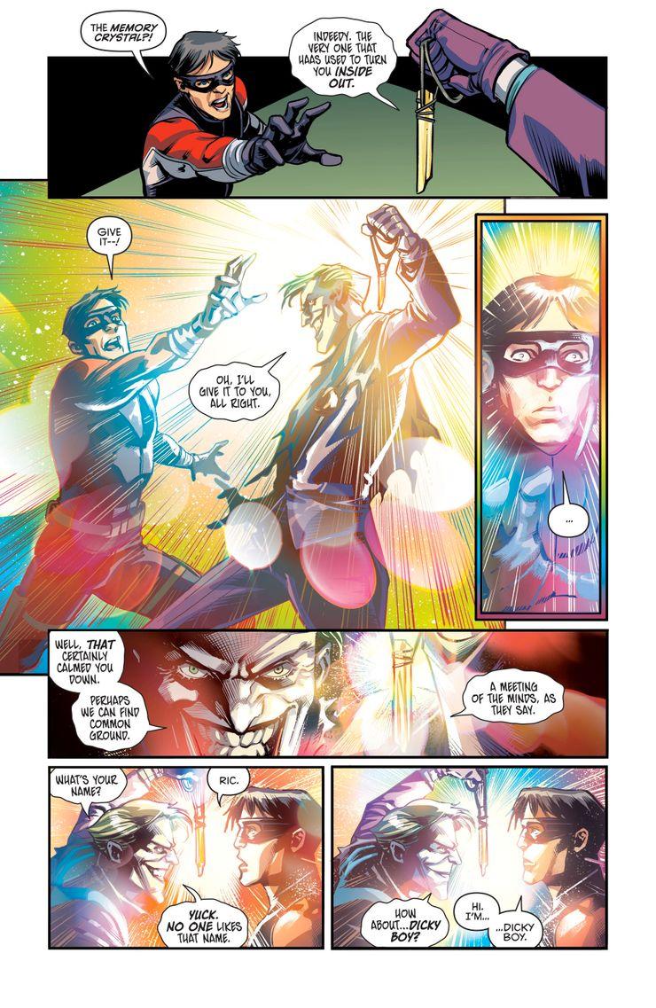 Nightwing: Dick Grayson tiene un nuevo nombre y es peor que Rick