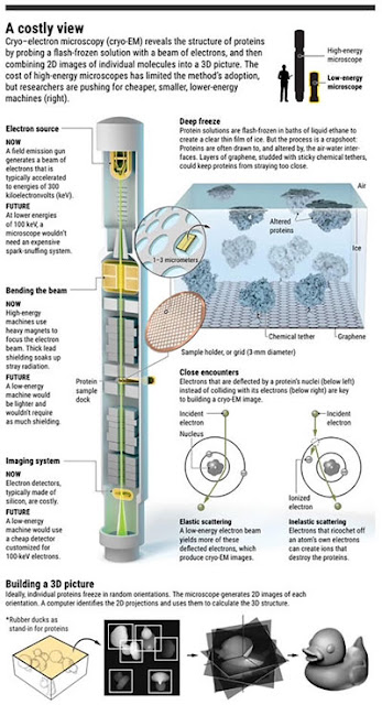 How Cryo-Electron Microscope technology works (Source: www.sciencemag.org