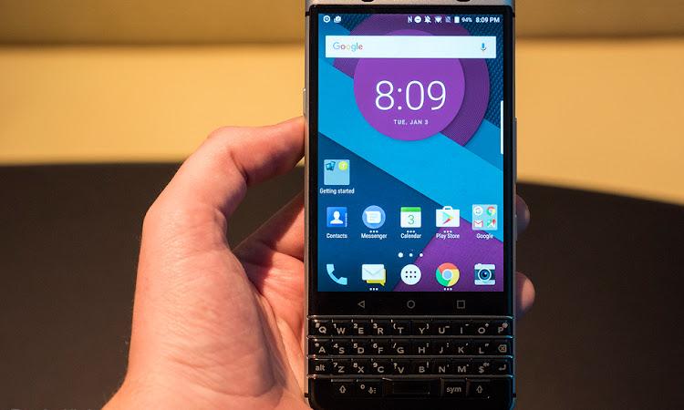 Blackberry Keyone, Fingerprint Handal Dengan Keyboard Qwerty