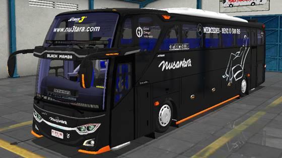 Livery JB3+ Mercedes Benz O500R Nusantara
