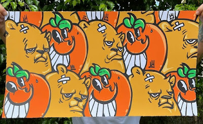 """""""Freshly Squeezed"""" Screen Print by JC Rivera x Atomik x All Star Press Chicago"""