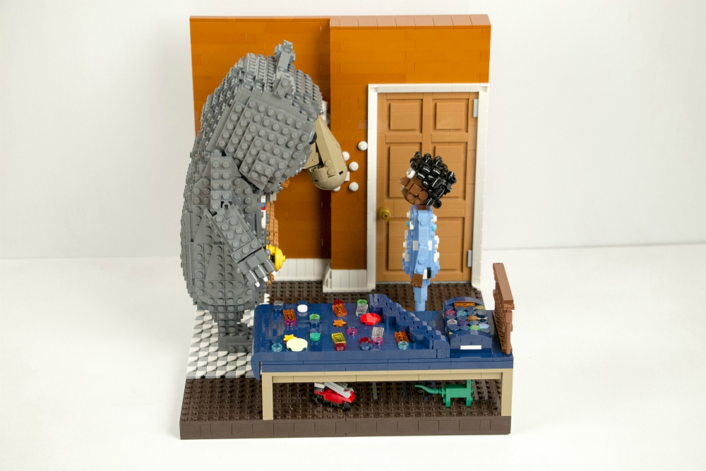 John Lewis Lego Creations