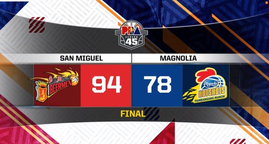 San Miguel def. Magnolia, 94-78 (VIDEO) March 8 | PBA