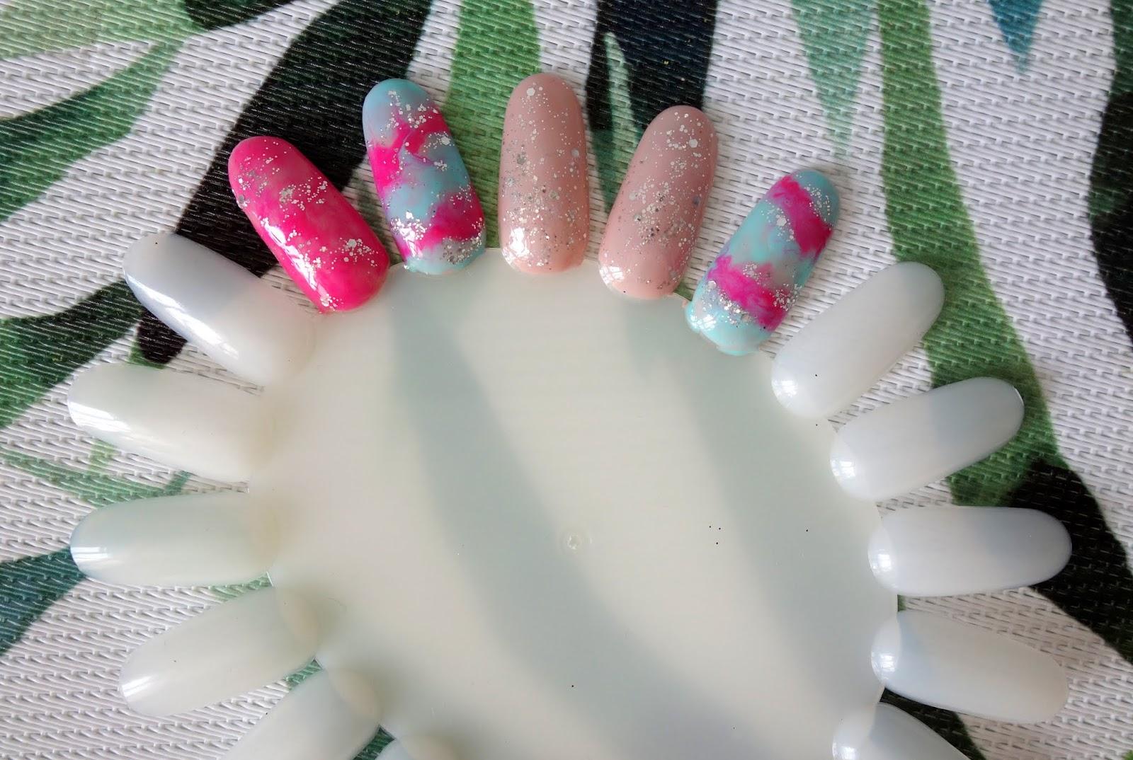 Manicure hybrydowy | Letnie & pastelowe zdobienie