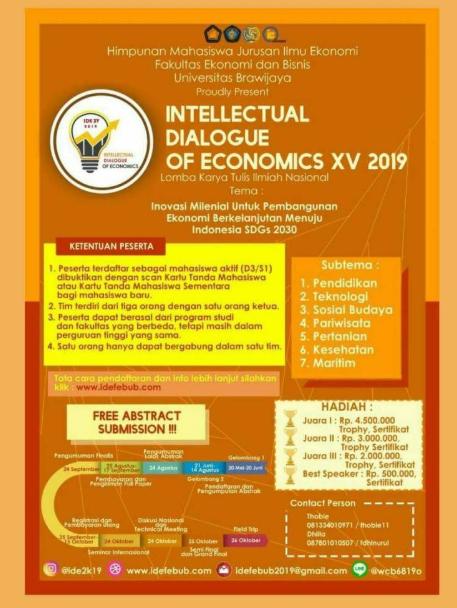 Lomba Karya Tulis Ilmiah Nasional 2019 di Universitas Brawijaya