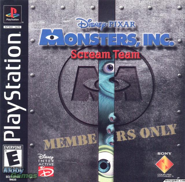 Monsters Inc. - Scream Team - PS1 - ISOs Download
