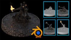 Blender 2.8 Model Texture Animation & Simulation Full Guide