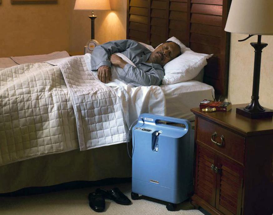 Tlenoterapia w leczeniu bezdechu sennego