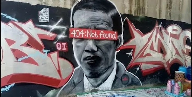 Polisi Hapus Mural Jokowi 404 Not Found, Fadli Zon dan Mardani PKS Kompak, Padahal Jokowi Enggak Tahu