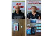 Polsek Kembayan Amankan Dua Terduga Pelaku Penyalahgunaan Narkoba Jenis Sabu