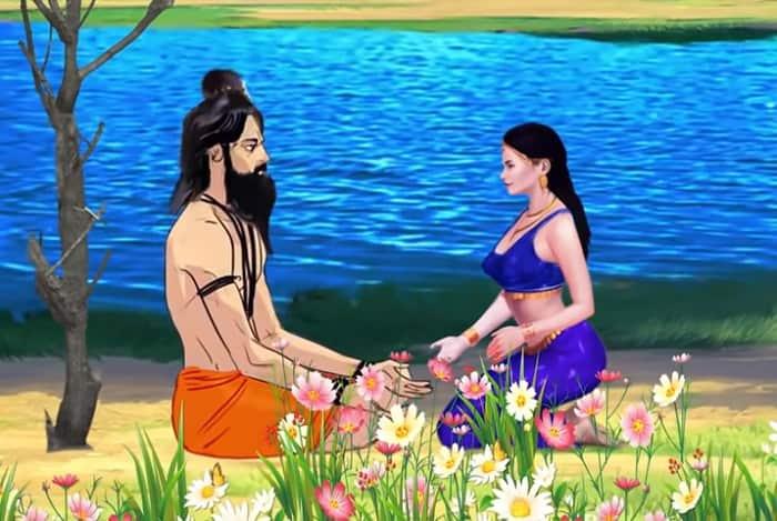 907 Years Long Romance - Apsara Pramlocha and Her Romantic Encounter with Rishi Kandu (Hindu mythology)