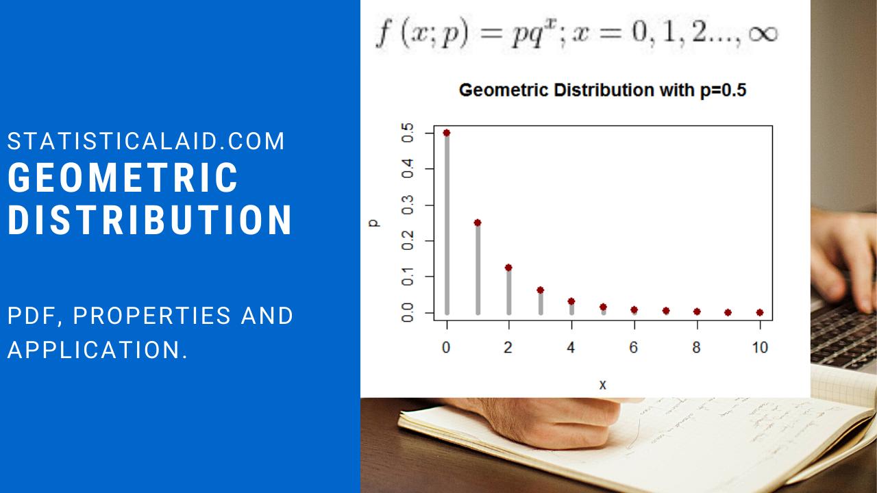 geometric distribution by statisticalaid.com