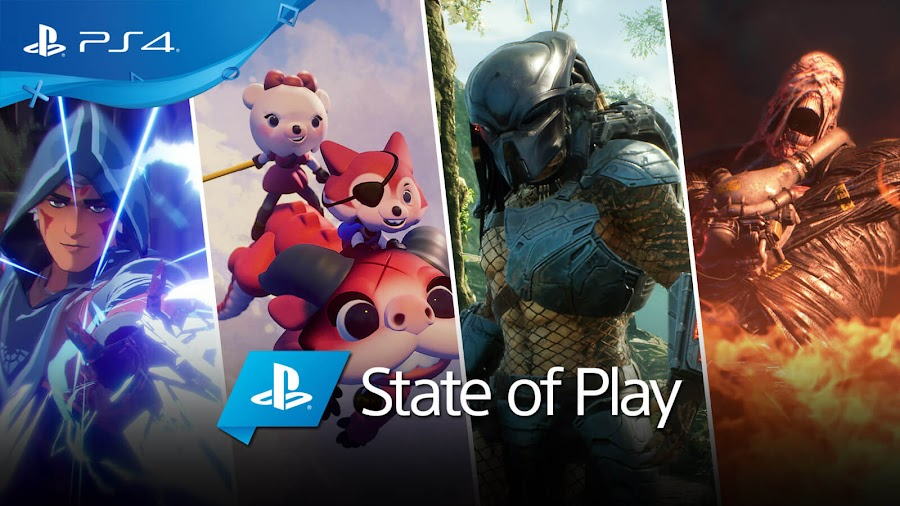 playstation state of play 2019 announcements sony ps4 spellbreak dreams predator hunting grounds resident evil 3 remake