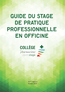 Guide du stage de pratique professionnelle en officine 2019 1