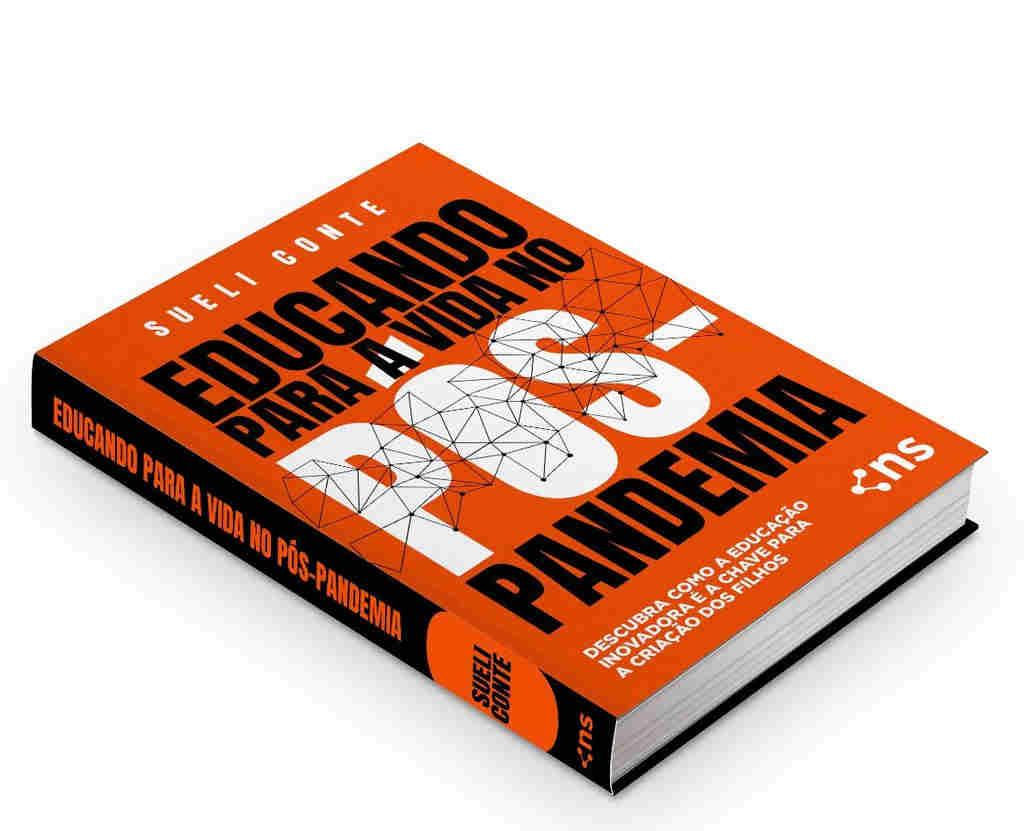 """O livro """"Educando para a Vida no Pós-Pandemia"""" nasce com o objetivo de fazer os leitores entenderem como podemos continuar vivendo sem nos deixar ruir emocionalmente e socialmente."""