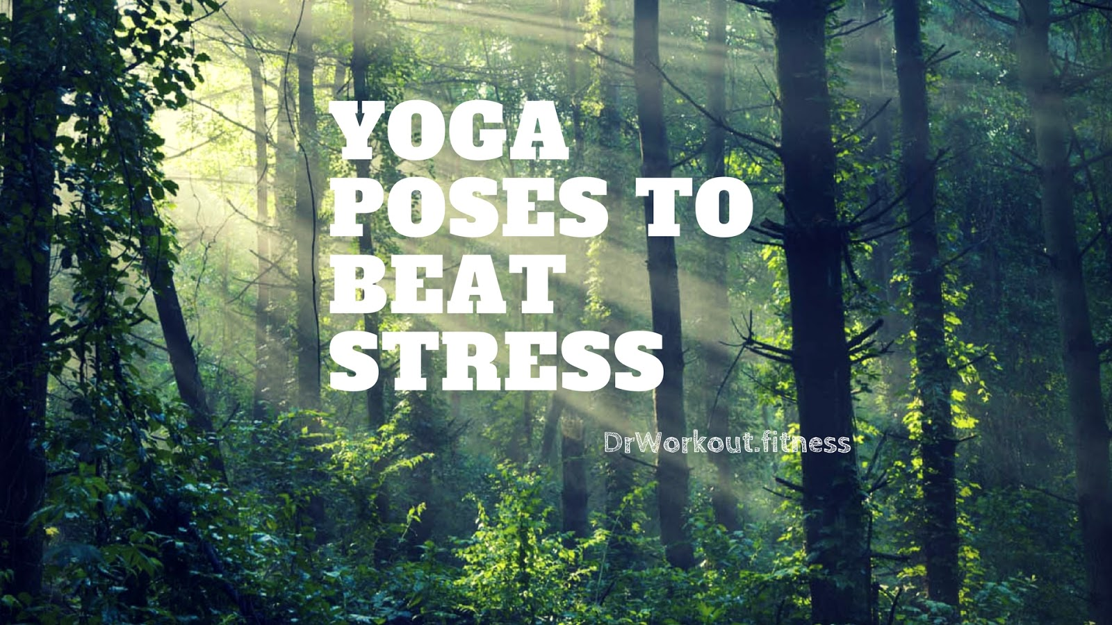 yoga poses for stress and depression