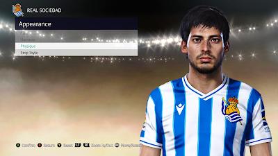 PES 2021 Faces David Silva